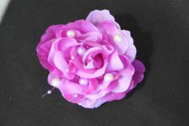 Parel haarbloem paars