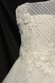 Ivoorwitte jurk Britney