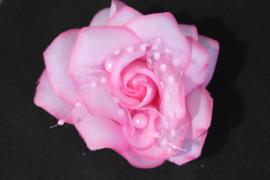 Licht roze haarbloem