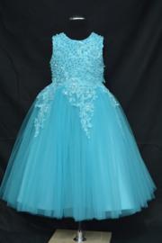 Turquoise jurk Miray