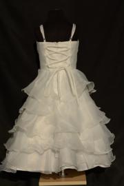 Ivoorwitte jurk Sara