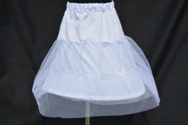 Onderrok met petticoat en hoepel