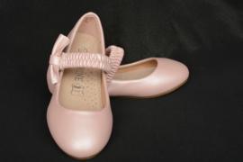 Strikjesballerina roze