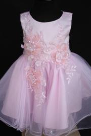 Lichtroze jurk Nola