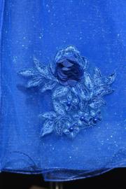 Jurk Whitney koningsblauw
