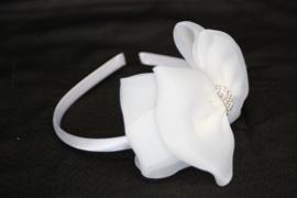 Haarband Lynn ivoor wit