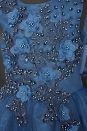 Jurk Leona donker blauw