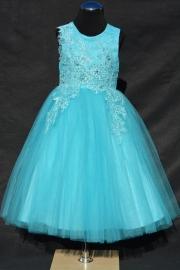 Turquoise jurk Amore