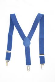 Bretels koningsblauw