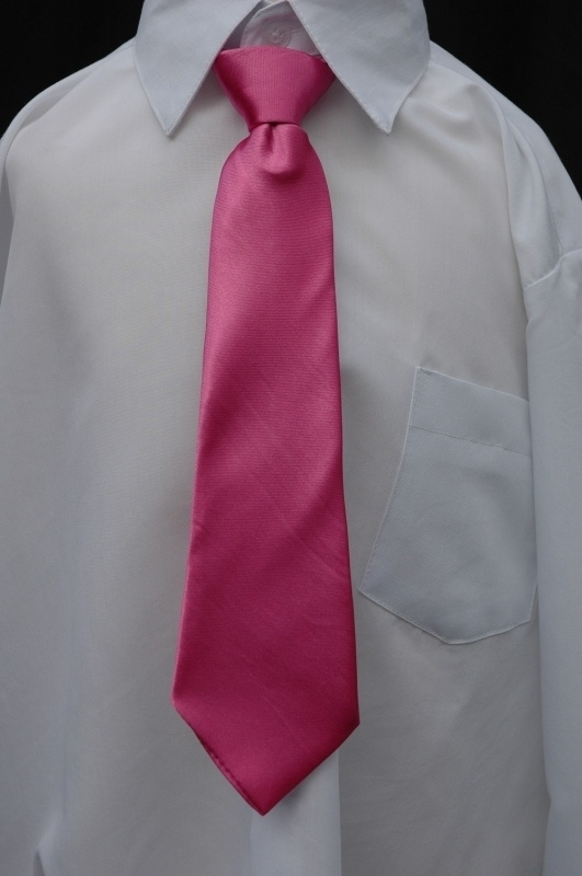 Fuchsia stropdas