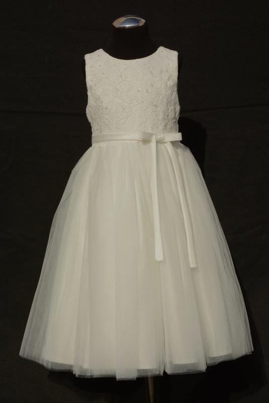 Wonderlijk Jurk Joanne   Bruidsmeisjes / Communie jurken   Gonnie's Kinderkleding SP-17