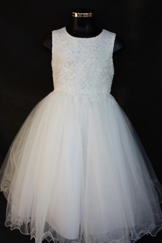 Ivoorwitte jurk Olivia