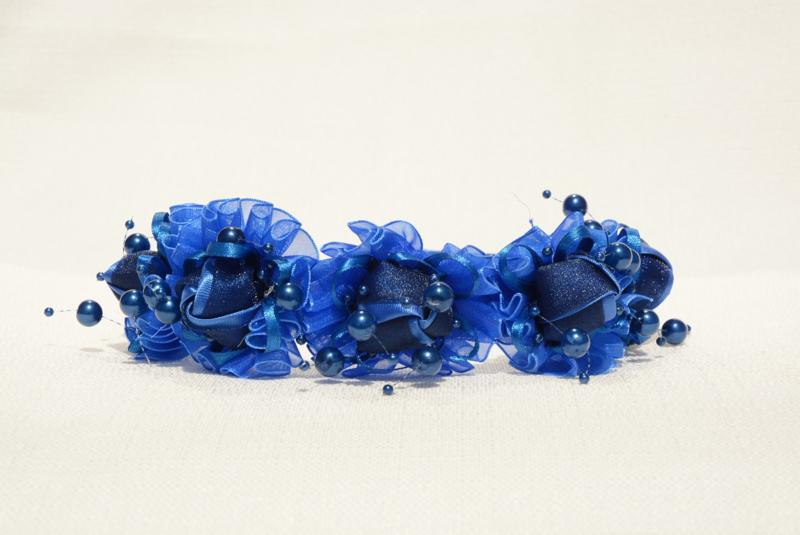 Koningsblauwe diadeem