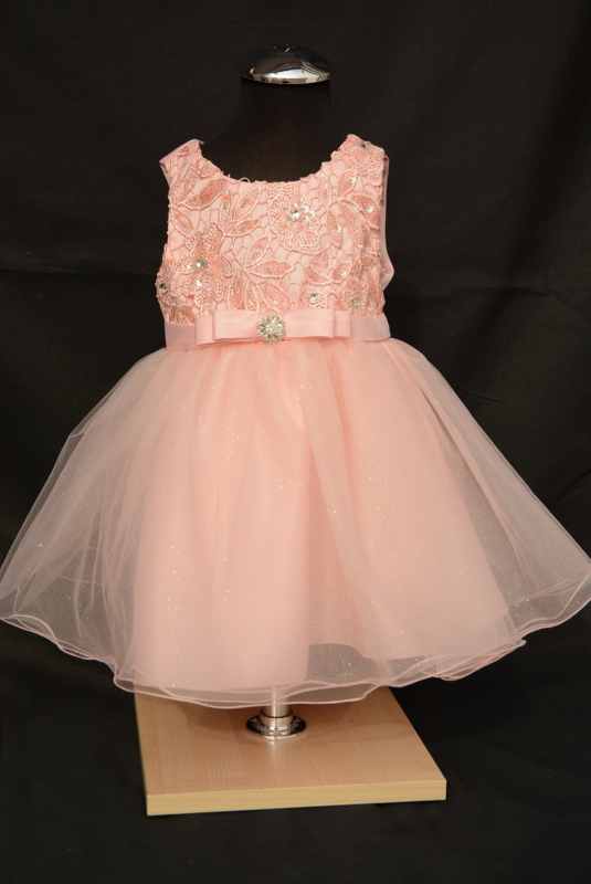Blush jurk Rosa