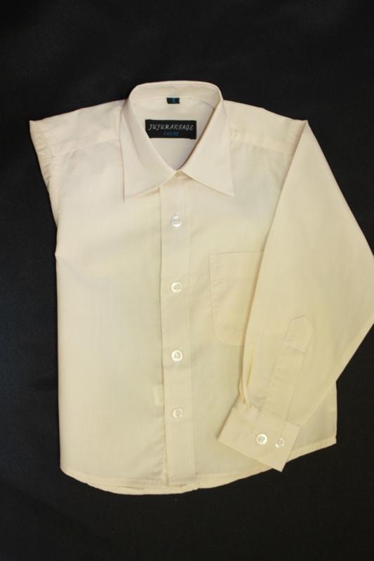 Overhemd beige