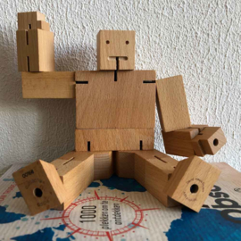 Cubebot Robot Puzzel - Medium | Areaware
