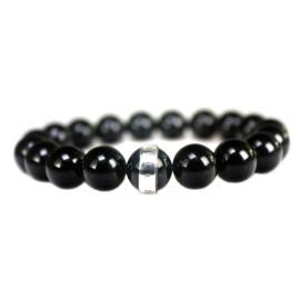 Heren Armband Onyx Zilver | Bela Donaco Jewelry