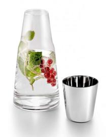 Karaf met Waterglas H2O 1L | Philippi Design