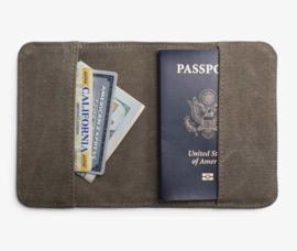 Paspoorthouder Canvas Wanderlust | Izola NYC