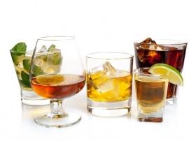 Cocktail set - 4 delig RVS/Kersenhout | Sagaform