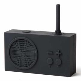 TYKHO 3 FM Radio / Bluetooth  Speaker Dark Grey LA119G3 | LEXON