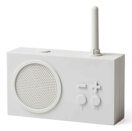 FM Radio / Bluetooth Speaker TYKHO 3 White LA119W7 | LEXON Design