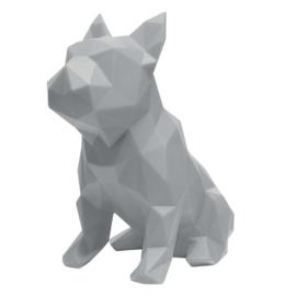 Sculptuur Franse Bulldog FRANK – Grijs | Marokka Design