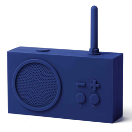 FM Radio / Bluetooth Speaker TYKHO 3 Dark Blue LA119DB9 | LEXON