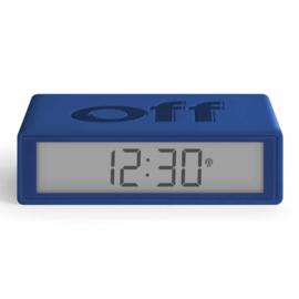 LCD Wekker Omkeerbaar Flip+ Dark Blue – Radio Controlled LR150DB9 | LEXON