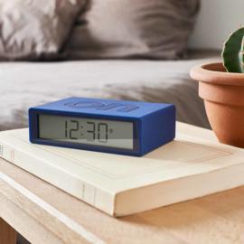 LCD Wekker Omkeerbaar Flip+ Dark Blue – Radio Controlled LR150DB9   LEXON