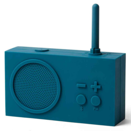 TYKHO 3 FM Radio / Bluetooth  Speaker Duck Blue LA119B9 | LEXON