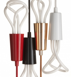 Hanglamp Plumen Drop Cap - White
