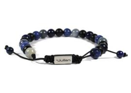 Heren Armband Batu Nane Blauw 17-21 cm | By Julian