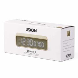 LED Wekker met Natuurlijke Geluiden - Oslo Time - LR145GG   LEXON