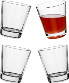 Glazen met tapse bodem – 4 stuks | Sagaform