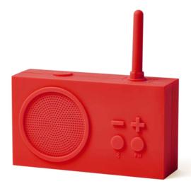 FM Radio / Bluetooth Speaker TYKHO 3 Red LA119R9 | LEXON