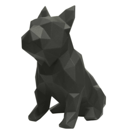 Sculptuur Franse Bulldog FRANK – Zwart | Marokka Design