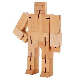 Cubebot Robot Puzzel - Small | Areaware