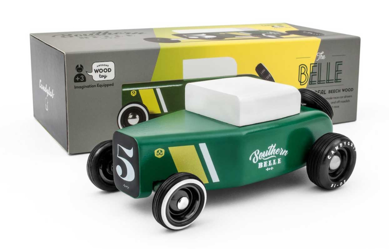 Candylab Toys | Outlaw Southern Belle - houten raceauto