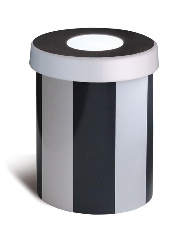 Voorraadpotje porselein REMEMBER - Black & White