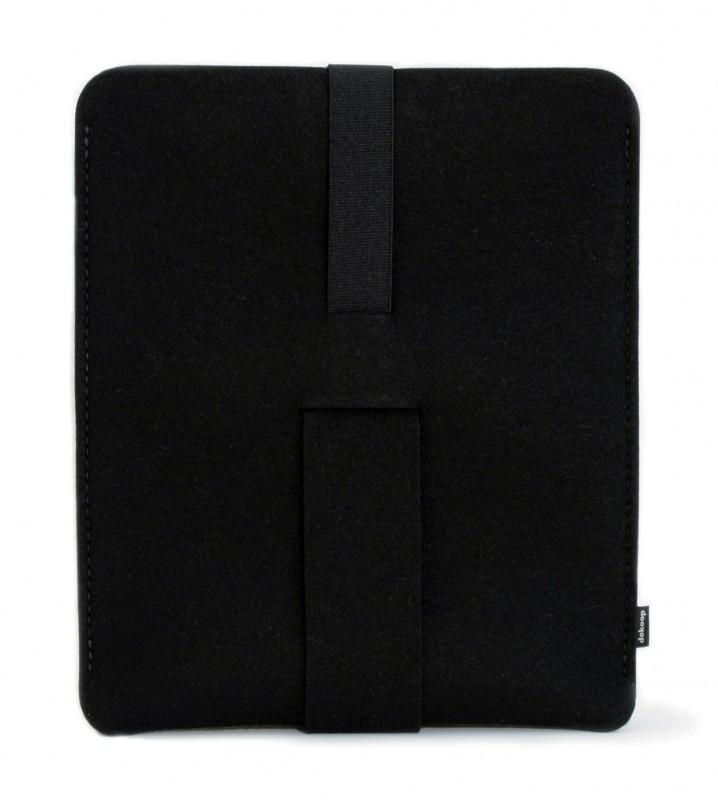 Babuschka iPad / Tablet Hoes Vilt - Zwart