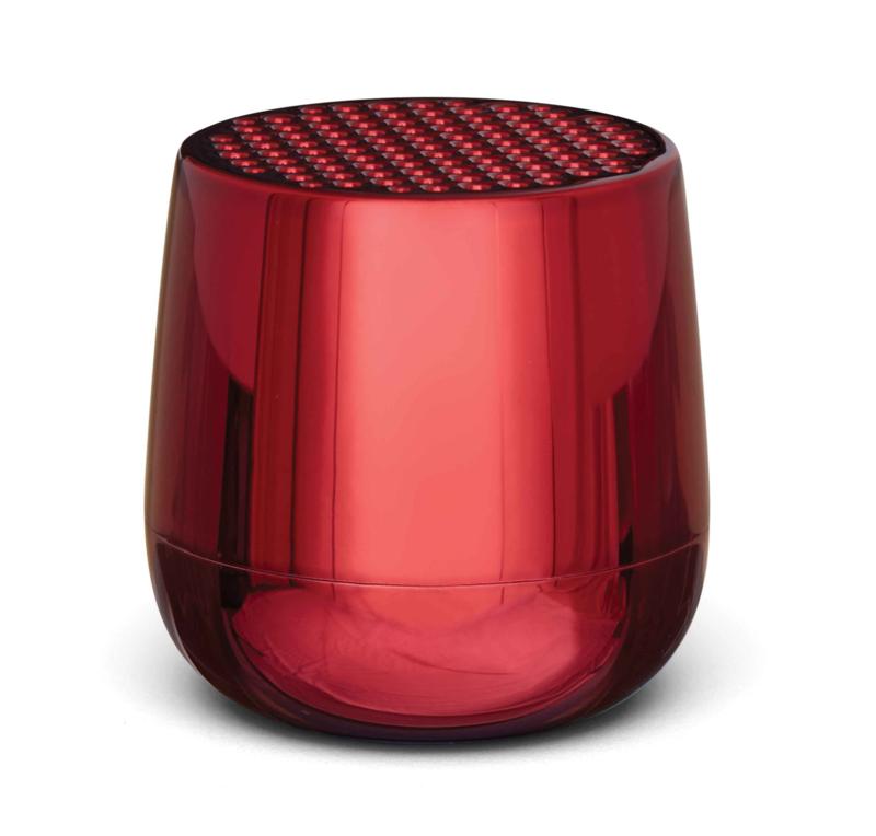 Mino+ Draagbare BT Speaker LA125MR Metallic Red | LEXON