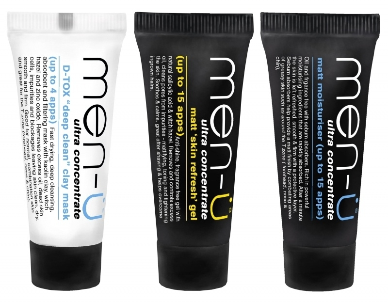 Men-U Matt Pack set 3x15ml