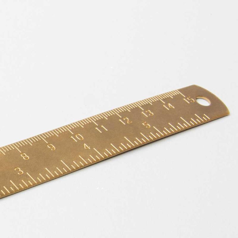 Liniaal Messing 15cm / 6 inch    Izola NYC