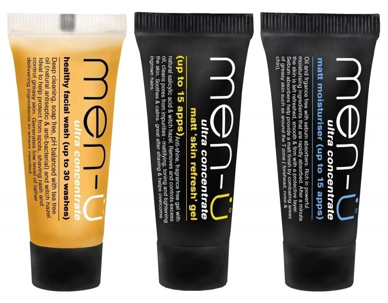 Men-U Matt Refresh & Moisturise set 3x15ml