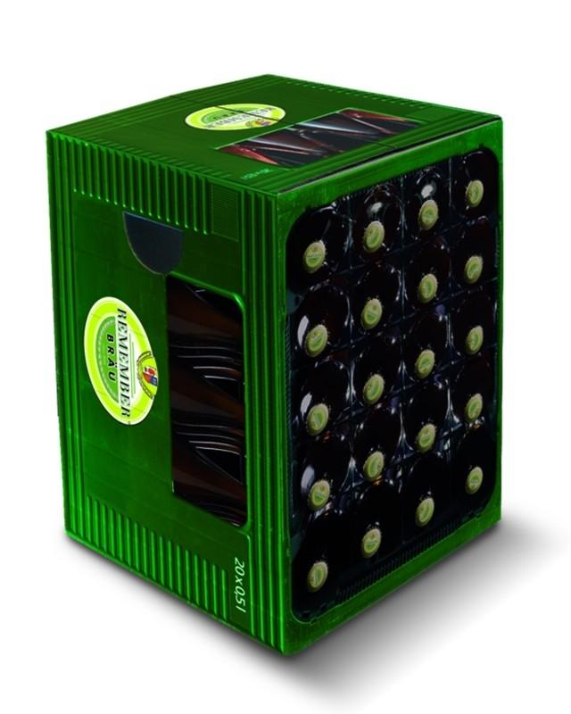 Poef / hocker REMEMBER Stool cardboard Beer