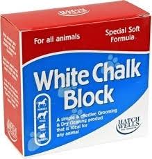 Witte kalkblokken