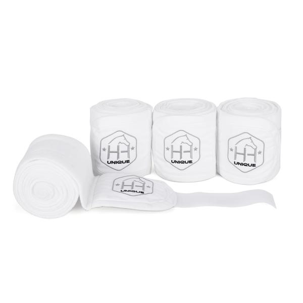 Witte bandages set van 4