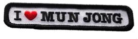 Kiel embleem Mun Jong (10x2cm)