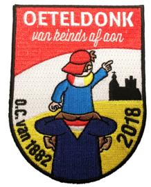 KLEIN Oeteldonk, van keinds af aon (Jaarembleem 2018)